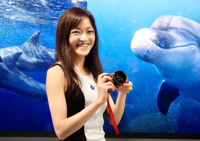 鈴木あやのさん講演「イルカと泳ぎたい」