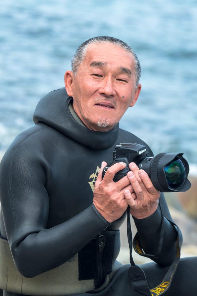 水中写真家・阿部秀樹さん